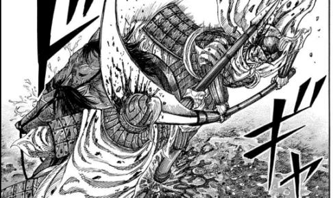 楚水 信と輪虎の一騎打ちを守る